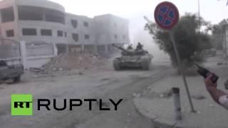 Syria: Army escalates efforts to recapture Jobar