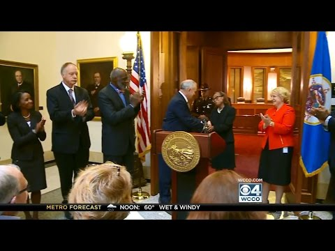 [WCCO] Governor Dayton Appoints the Honorable Natalie E. Hudson to the Minnesota Supreme Court