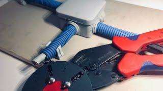 Электромонтаж | Опрессовка | Полный цикл | Обзор опрессовщика Knipex MultiCrimp.