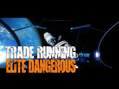 "Elite: Dangerous - Trade Runner ""I got a new ship!"""