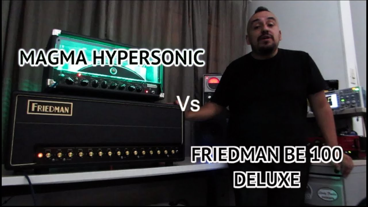 MAGMA HYPERSONIC vs FRIEDMAN BE100 DELUXE
