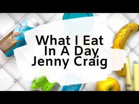 I LOST 7 POUNDS MY FIRST WEEK ON JENNY CRAIG! WHAT I EAT IN A DAY ��