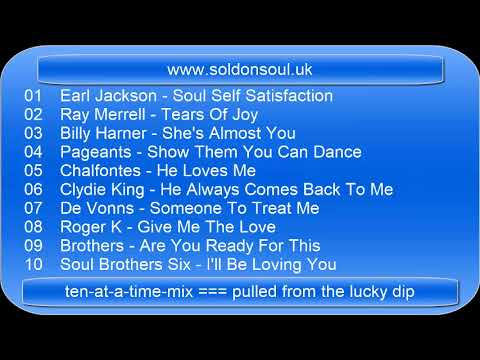 soldonsoul.uk - ten at a time mix --- pulled from the lucky dip