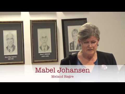 Mabel Johansen, Meland Høgre