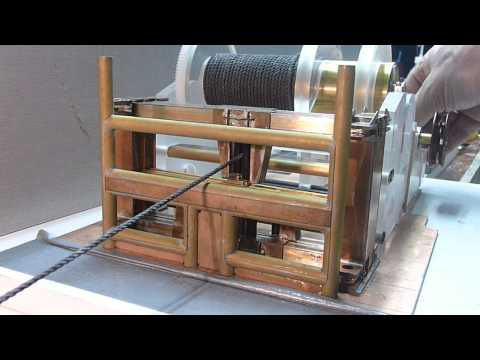 Test Anchor handling Drum/spooling gear, Maersk Topper
