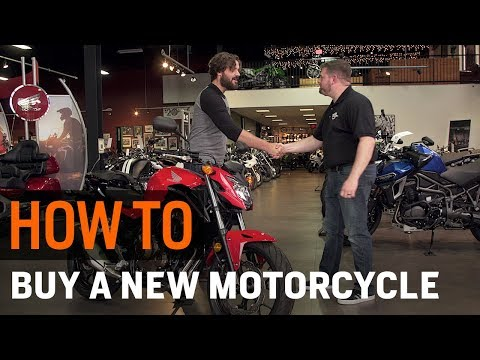 How To Buy A New Motorcycle from a Dealer at RevZilla.com