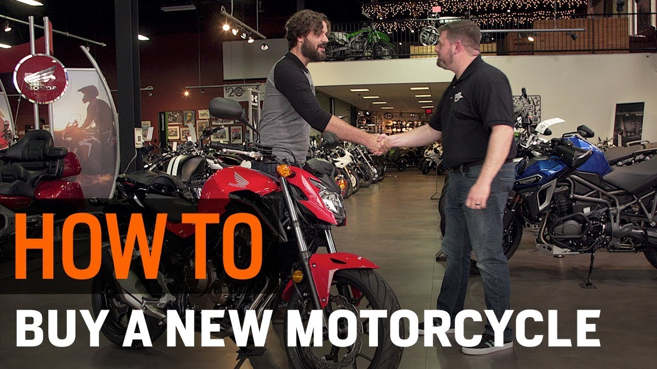 Shop Moto Salon How To Buy A New Motorcycle From A Dealer At Revzilla