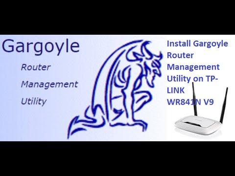 Install Gargoyle Router Management Utility on TP-LINK WR841N V9 router