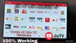 #How to Watch Jio TV On Any Android TV    July 2021 New Trick Watch All Live TV Channels ! Hindi √√ screenshot 5