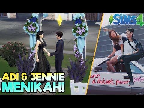 ADI & JENNIE MENIKAH JUGA 😍 - THE SIMS 4 | Eps.9