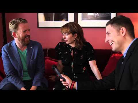 Tom Goodman Hill & Katherine Parkinson Of AMC's Humans