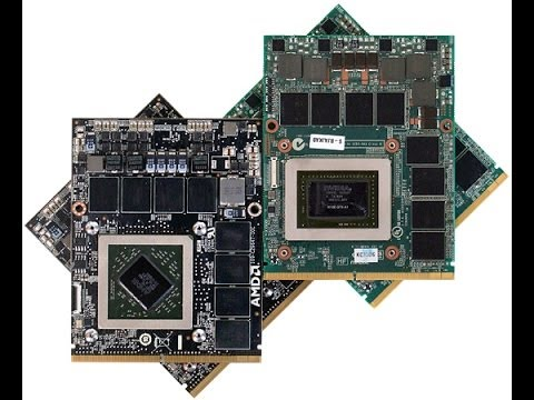 Differences between integrated & dedicated laptop GPU: MXM Graphics