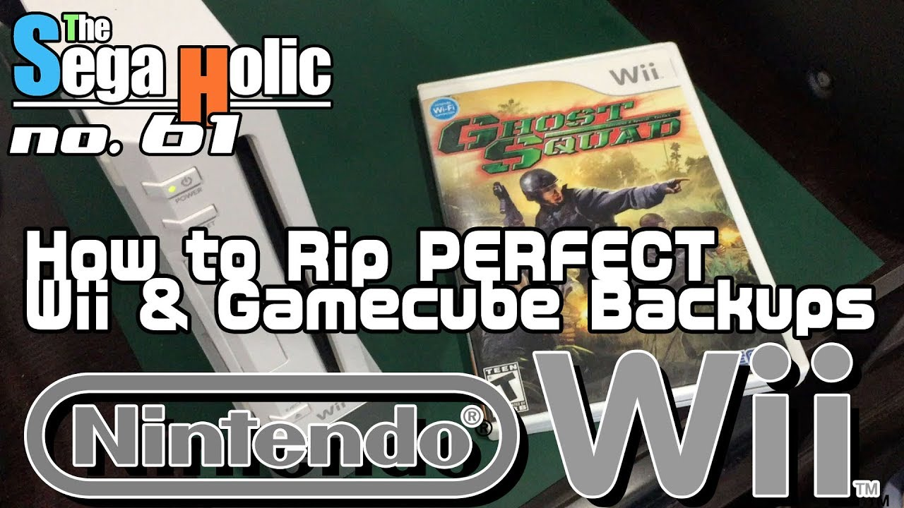 How to Rip PERFECT Wii & Gamecube Backups [ep  61] : LightTube