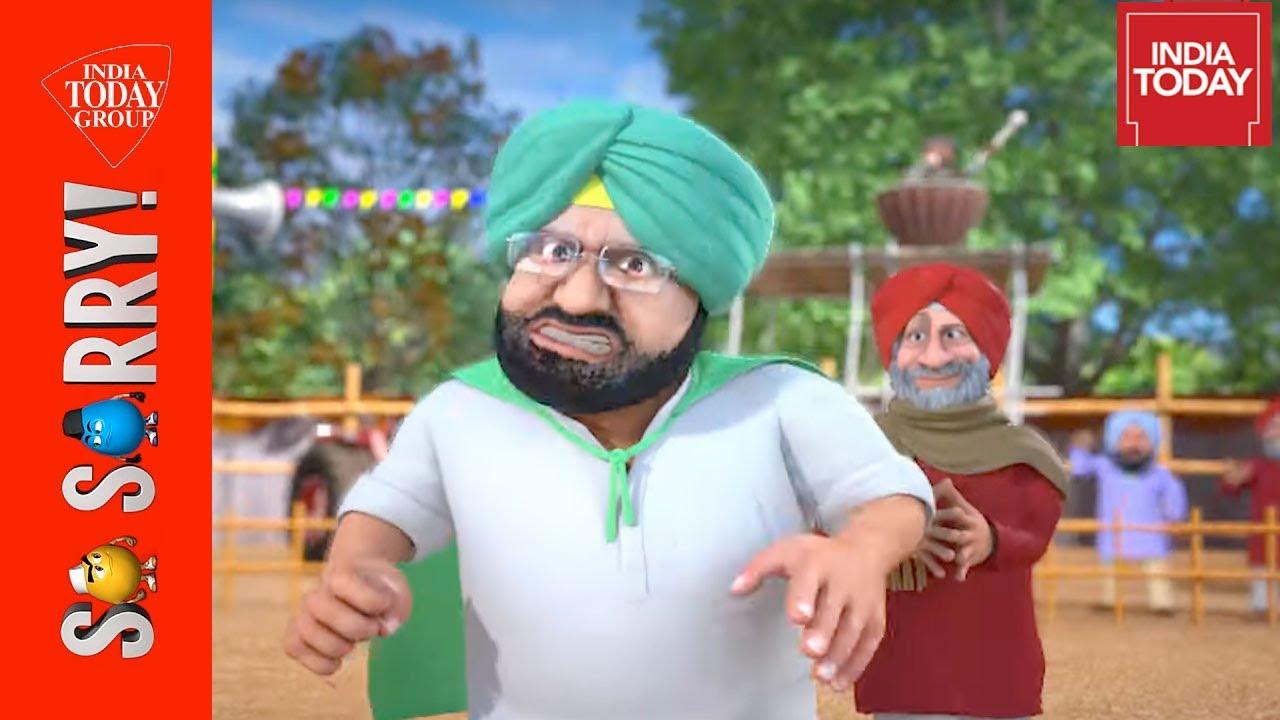 So Sorry    Punjab Ka Sardar Kaun: Amarinder Vs Sidhu   India Today