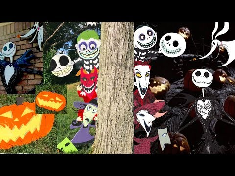 The Nightmare Before Christmas, Lock, Shock, and Barrel Wooden Cutouts