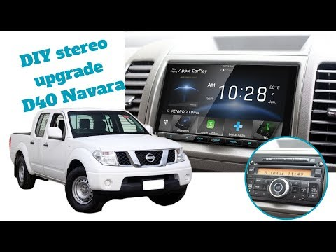 How To Install Stereo in a Nissan Navara D40 – Radio Install & Removal D40