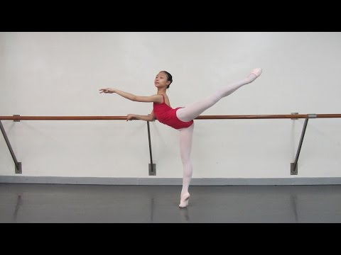 Emily FUNG HIO IAO--- Ballet audition video