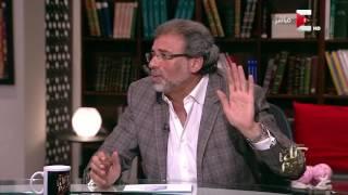 كل يوم - خالد يوسف: عليا النعمة ما في وزير يعرف يدافع عن الحكومة زي محمد أبو حامد