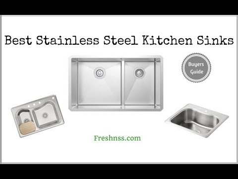 ✅Stainless Steel Kitchen Sink: Reviews Of The 9 Best Stainless Steel Kitchen Sink, Plus 1 To Avoid ❎