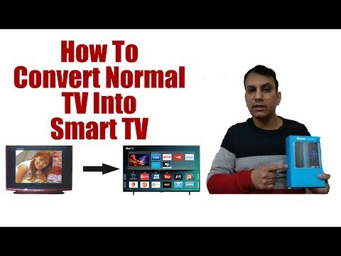 How To Convert Normal TV Into Smart TV in Hindi | Roku Express Unboxing,Review & Setup | #Roku