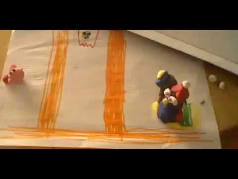 Yago y su primera película de animación con plastelina