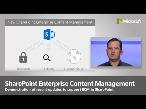 SharePoint Content Services January 2018 Update