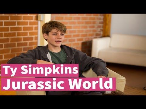 Jurassic World's Ty Simpkins Interview!