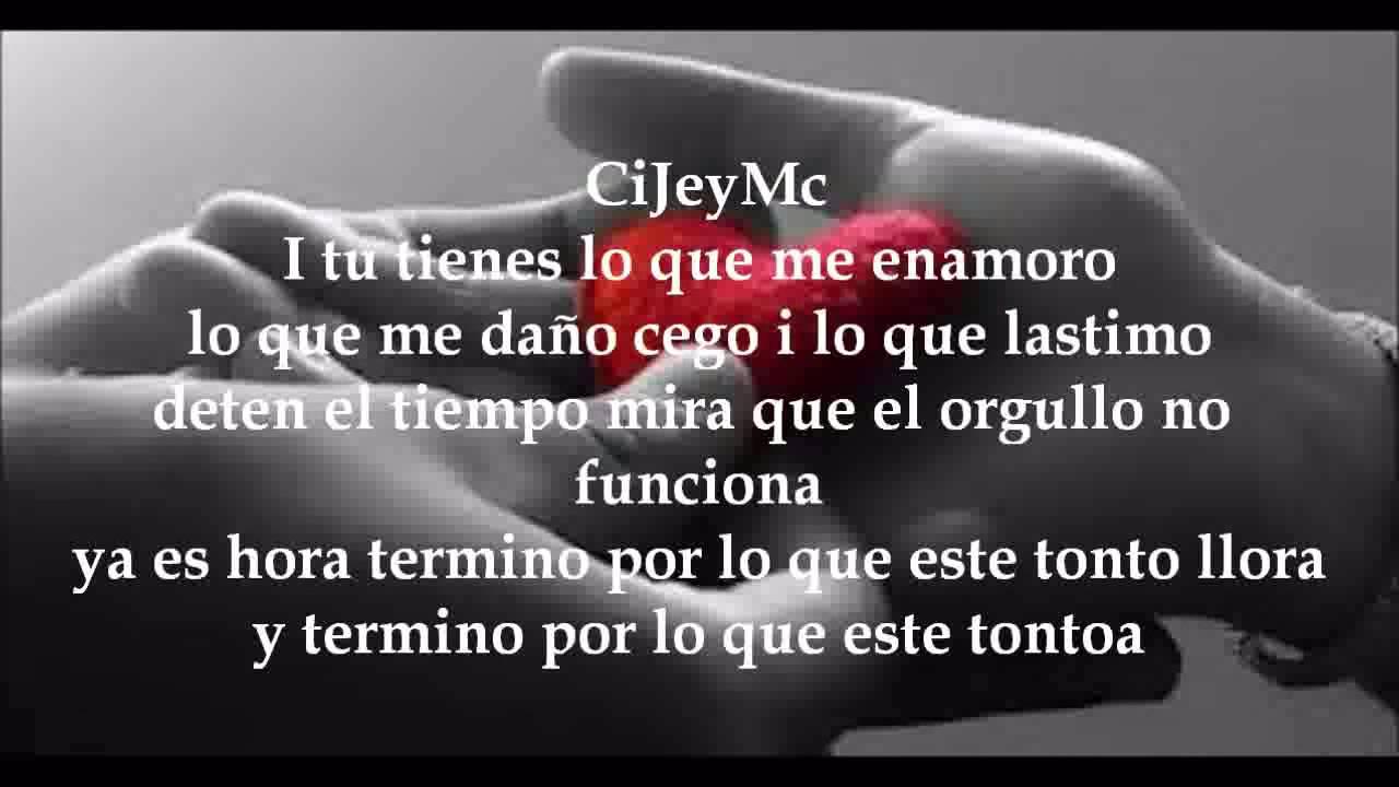 Rap Romantico El Reflejo De Un Adios Cijeymc Feat Dl Vilches Letra