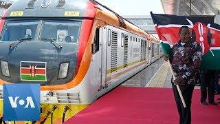 Kenya's Kenyatta Opens Chinese-Built Railway linking Nairobi and Naivasha