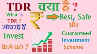 How to Invest | TDR Investment scheme | हिंदी मैं | Investment Ideas Episode #4
