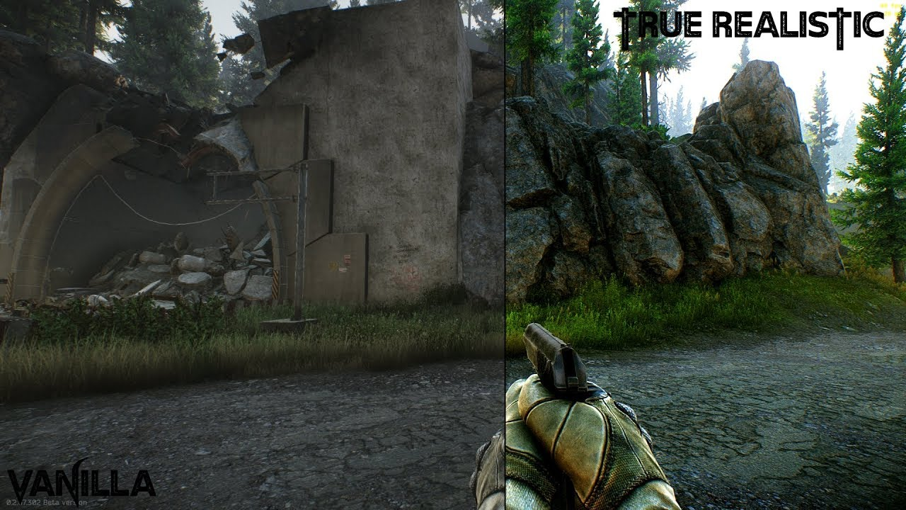 Escape From Tarkov // Reshade-SweetFx // True Realistic Mod