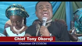 POPULAR COMEDIAN KOFI IDOWU BURIES FATHER IN LAGOS