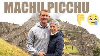 Machu Picchu schlechtes Wetter • Regen am Machu Picchu | VLOG #454