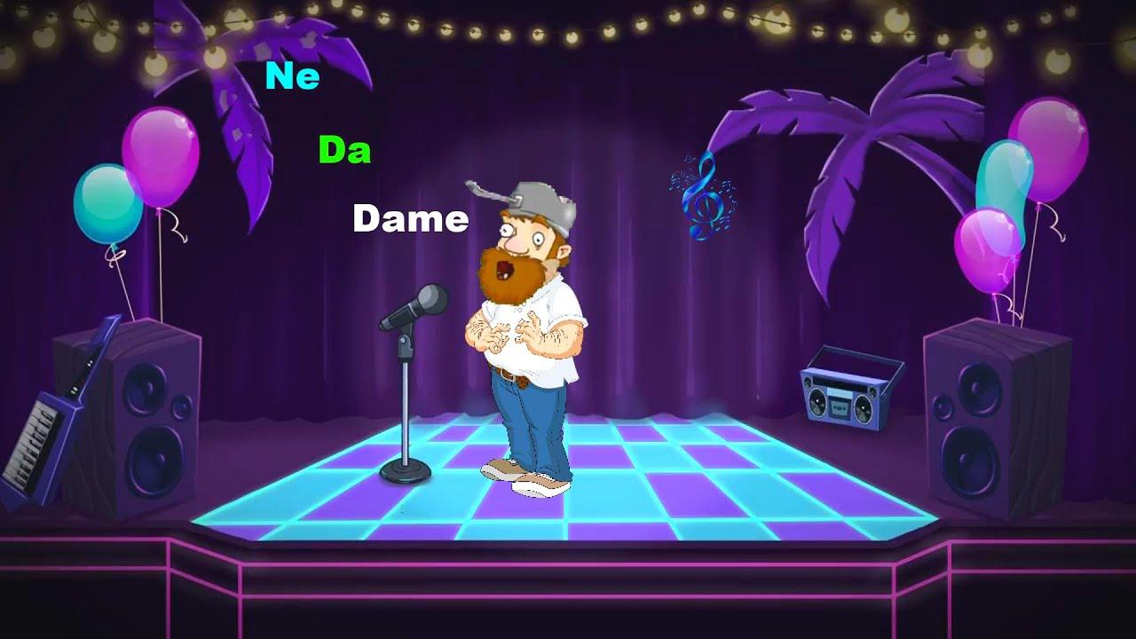 Crazy Dave - Dame Da Ne Meme! (Video PVZ 2)