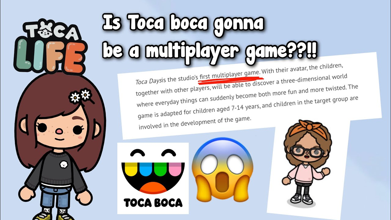 IS TOCA BOCA GONNA BE A MULTIPLAYER GAME?!?!!! | HUGE SPILL 🙊✌🏼 | Toca shine ✨