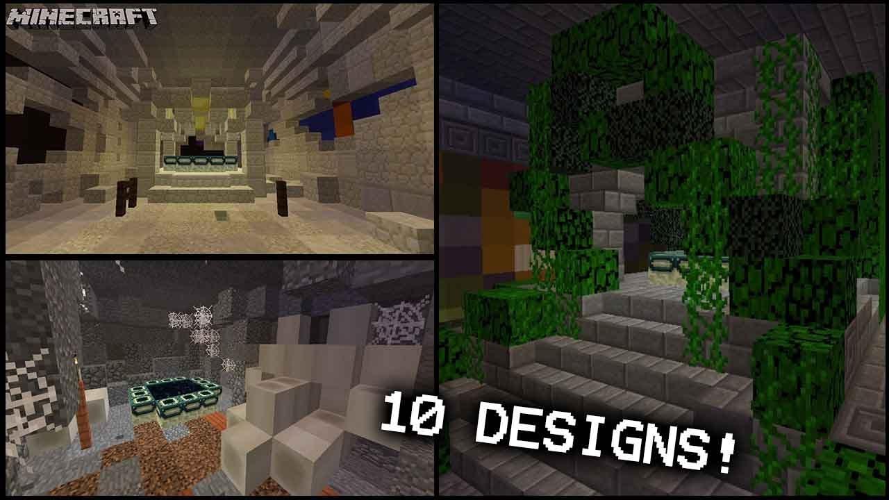 Minecraft 10 End Portal Biome Designs