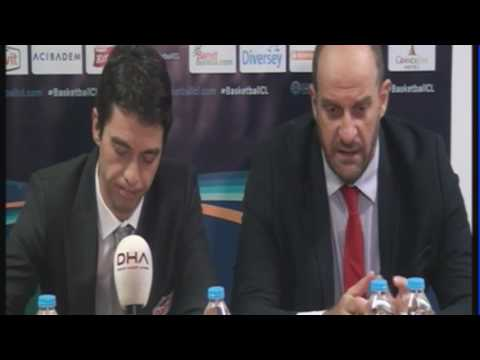 Banvit BK - AS Monaco Press Conference