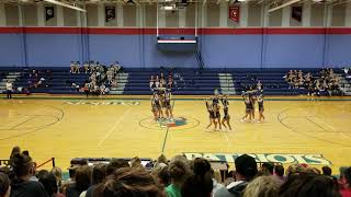 Download Video Martinsburg High School at The Eastern Panhandle Athletic Conference Cheer Competition 2018 MP3 3GP MP4