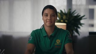Sam Kerr writes an emotional letter to thank her Strength & Conditioning coach