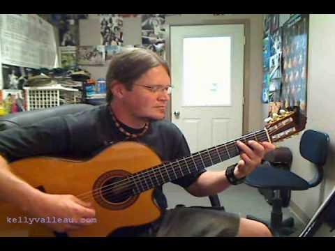 Wavin' Flag - Kelly Valleau fingerstyle Guitar