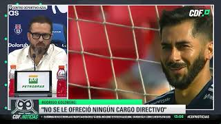 Rodrigo Goldberg, Director Deportivo de la U: