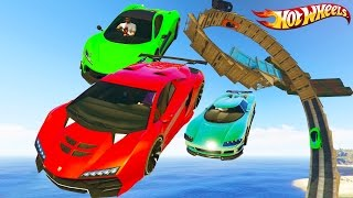 Epic Hot Wheels Tracks - GTA 5 Hot Wheels Track Races - Grand Theft Auto V