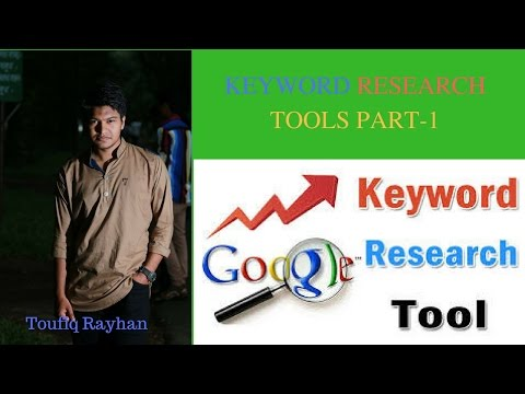 Keyword Research Free tools Review part 1