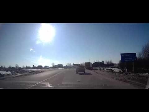 Заволжье Нижний Новгород 14 03 2016 Через Городец
