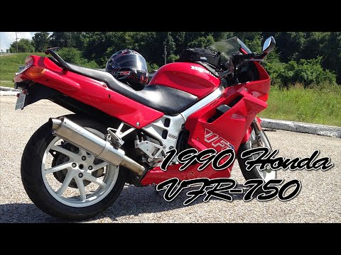 1990 Honda VFR-750 | First Ride
