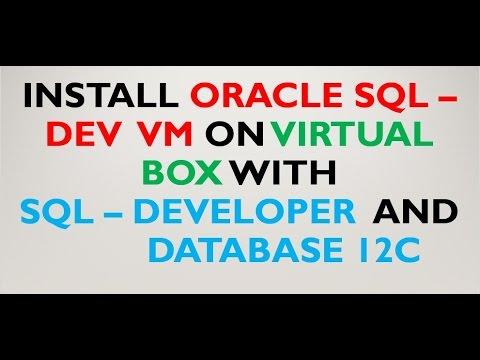 Oracle Developer Day Virtual Machine on Virtual Box