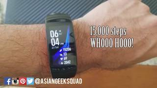 Day 1 Tips - Samsung Gear Fit 2 Pro - Battery Life, Water Mode and more!