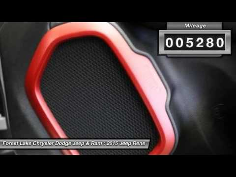 2015 jeep renegade trailhawk forest lake mn r16016a youtube. Black Bedroom Furniture Sets. Home Design Ideas