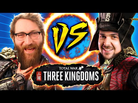 ME Vs THE CHINESE GOD OF WAR | Total War: Three Kingdoms #ad