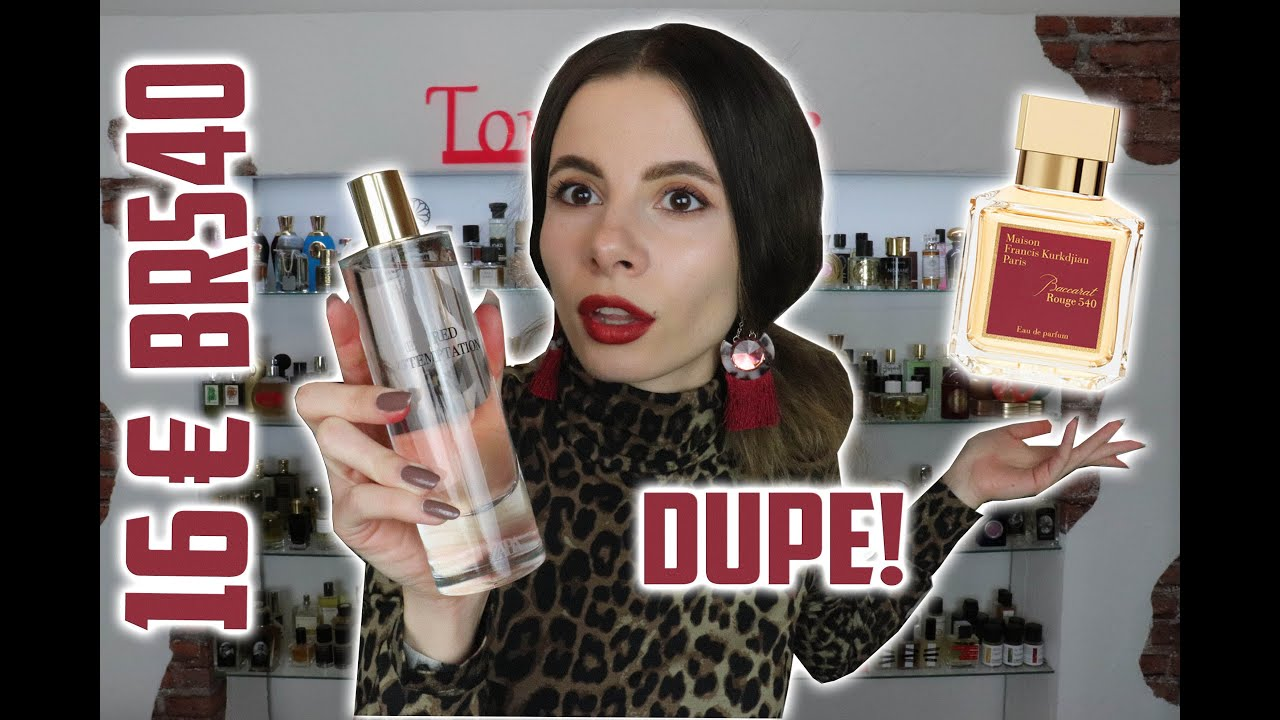 ZARA MADE THE CHEAPEST & MOST ACCURATE DUPE ON BACCARAT ROUGE  20 COMPARISON OF BOTH   Tommelise